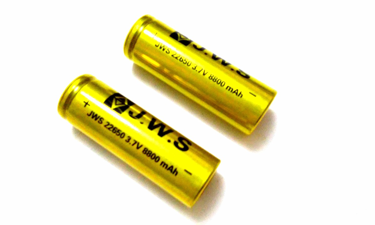 Bateria 22650 3.7v 8800 mAh J.W.S