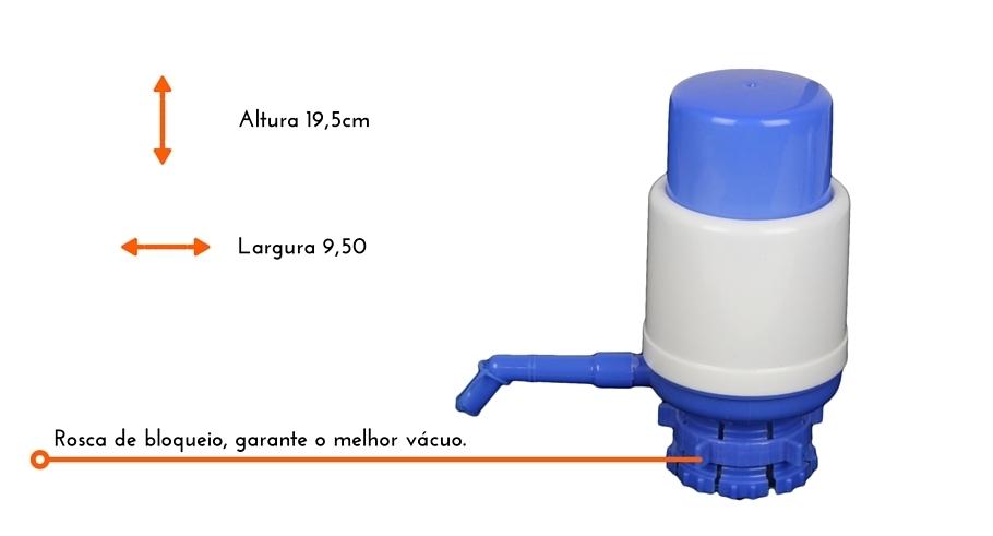 Bomba Para Galão de Água Mineral  Manual 10 ou 20 Lts