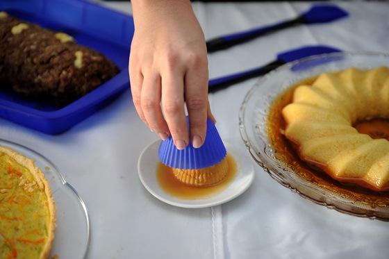 Forma Silicone Cup Cake 5 Cm Diametro C/12 Unidades