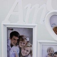 Porta Retrato Múltiplo (3 Fotos) Amor