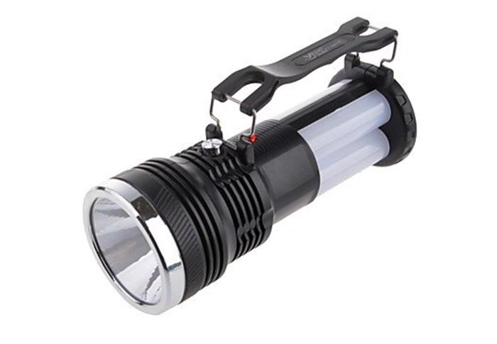 Lanterna Led  Recarregável Solar/Ac.