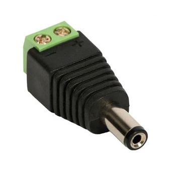 Conector P4 Macho Com Borne Unidade