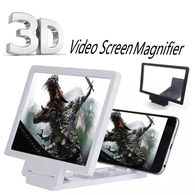Capa Tela Enlarged 3d Screen For Mobile White
