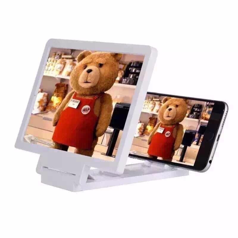 Capa Tela Enlarged 3d Screen For Mobile White