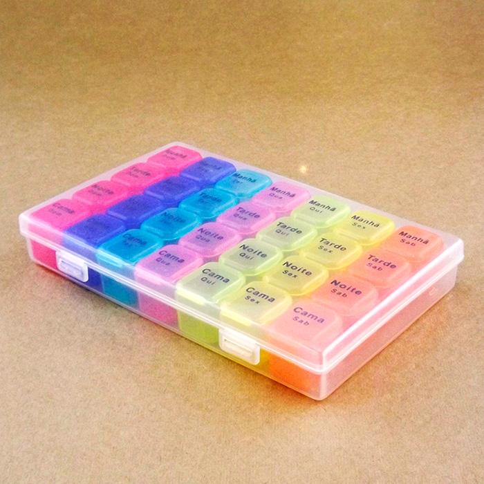 Porta Comprimidos Organizador MZ-47241