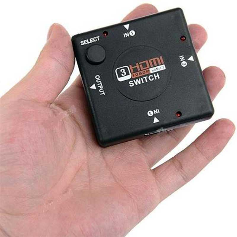 Hub Switch  Divisor HDMI 3 Portas