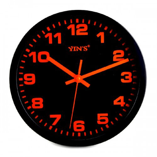 Relógio de Parede Analógico Redondo