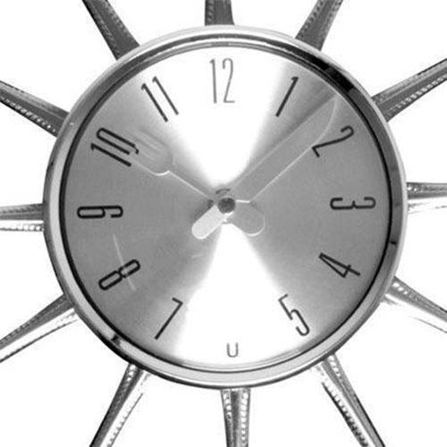 Relógio de Parede Talheres Decorativo
