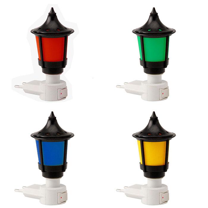 Mini Abajur para Tomada c/ Lampada