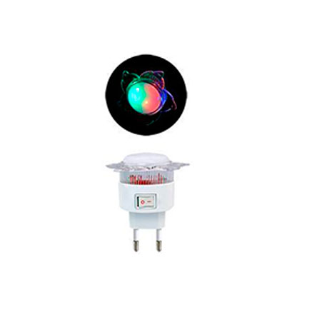 Mini Abajur de Tomada c/ Lâmpada Sol