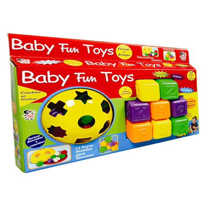 Brinquedo Didático Educativo Baby Fun Toys