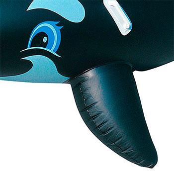 Boia Bote Inflável Baleia Gigante Com Alça