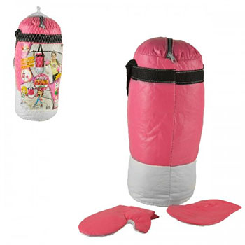 Kit Saco de Boxe com Luva Infantil