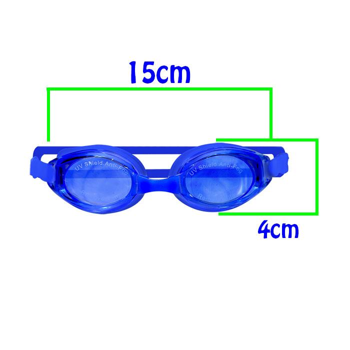Óculos de Natação Infantil Silicone + Protetor Auricular + Narizeira