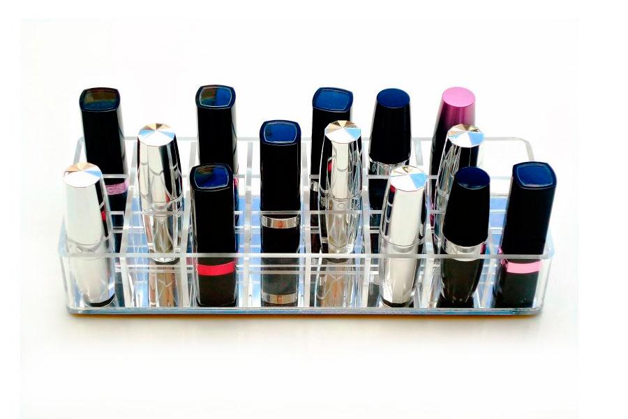 Organizador Porta Maquiagem Batom Acrilico