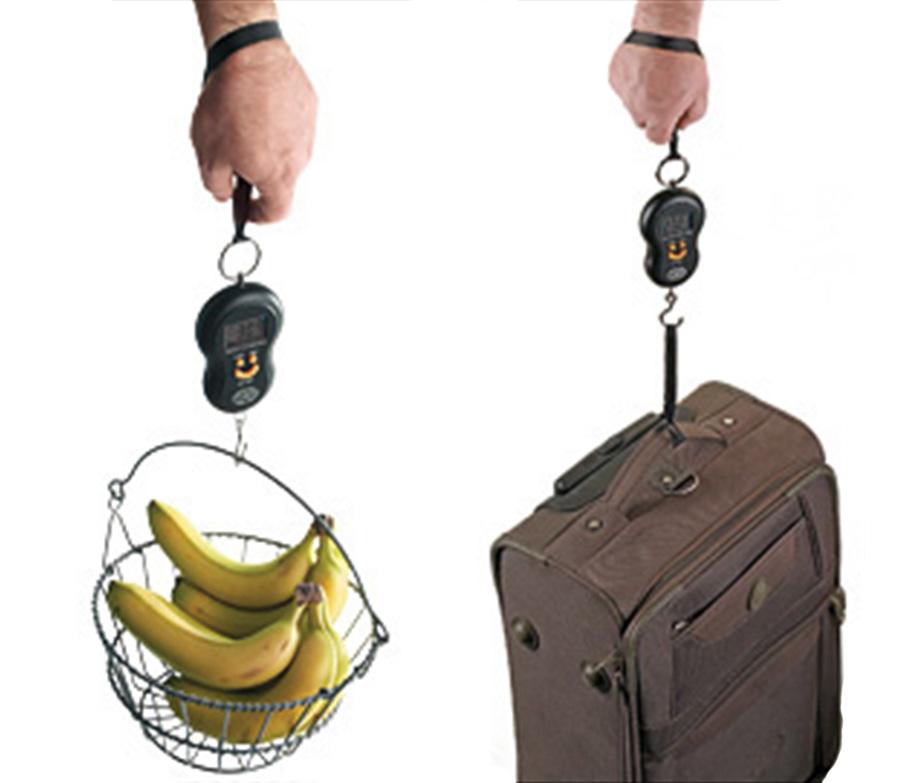 Mini Balança de Mão Portátil com Gancho 40kg