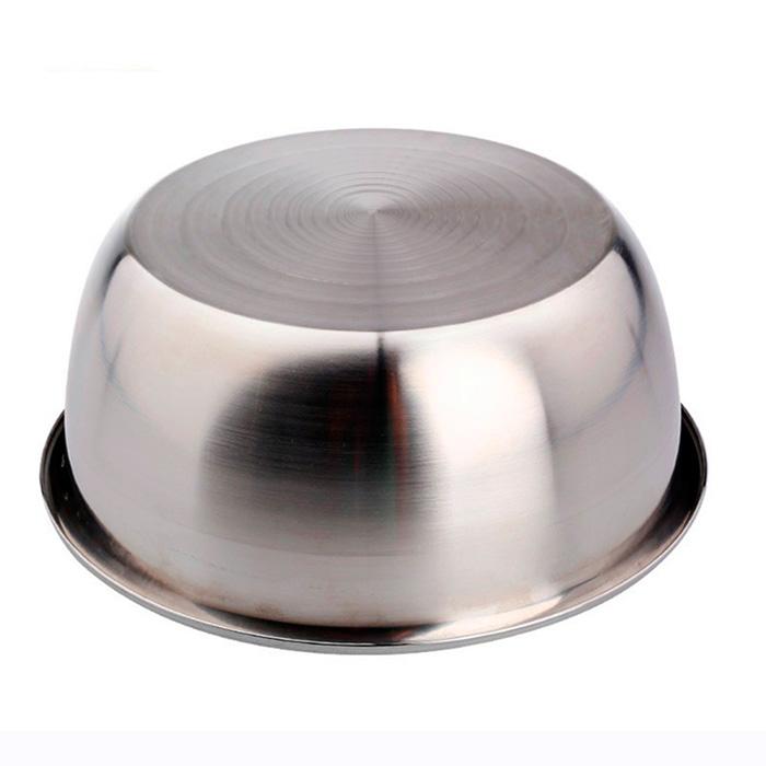 Conjunto de Tigelas Aço Inox  Reforçada