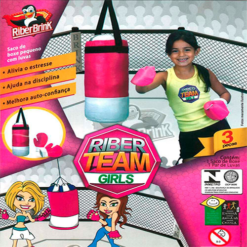 Kit Saco de Boxe + Luva Infantil
