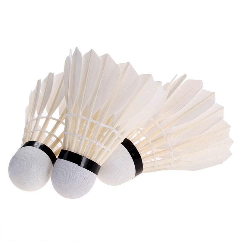 Kit 06 Petecas de Pena Para Badminton