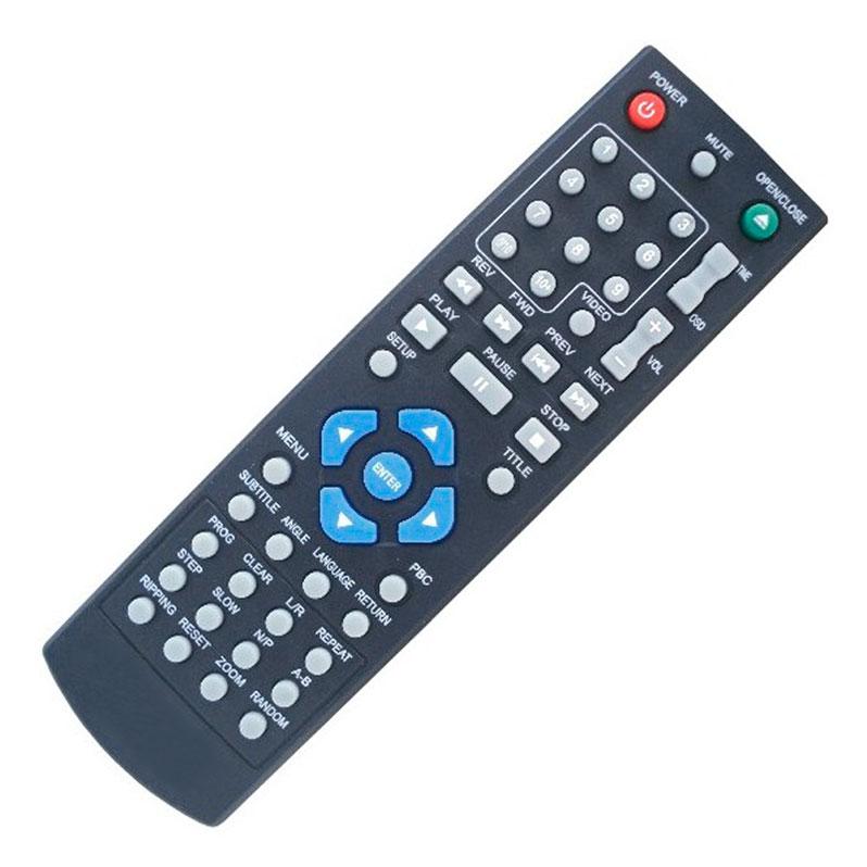 Controle Remoto para Dvd TecToy