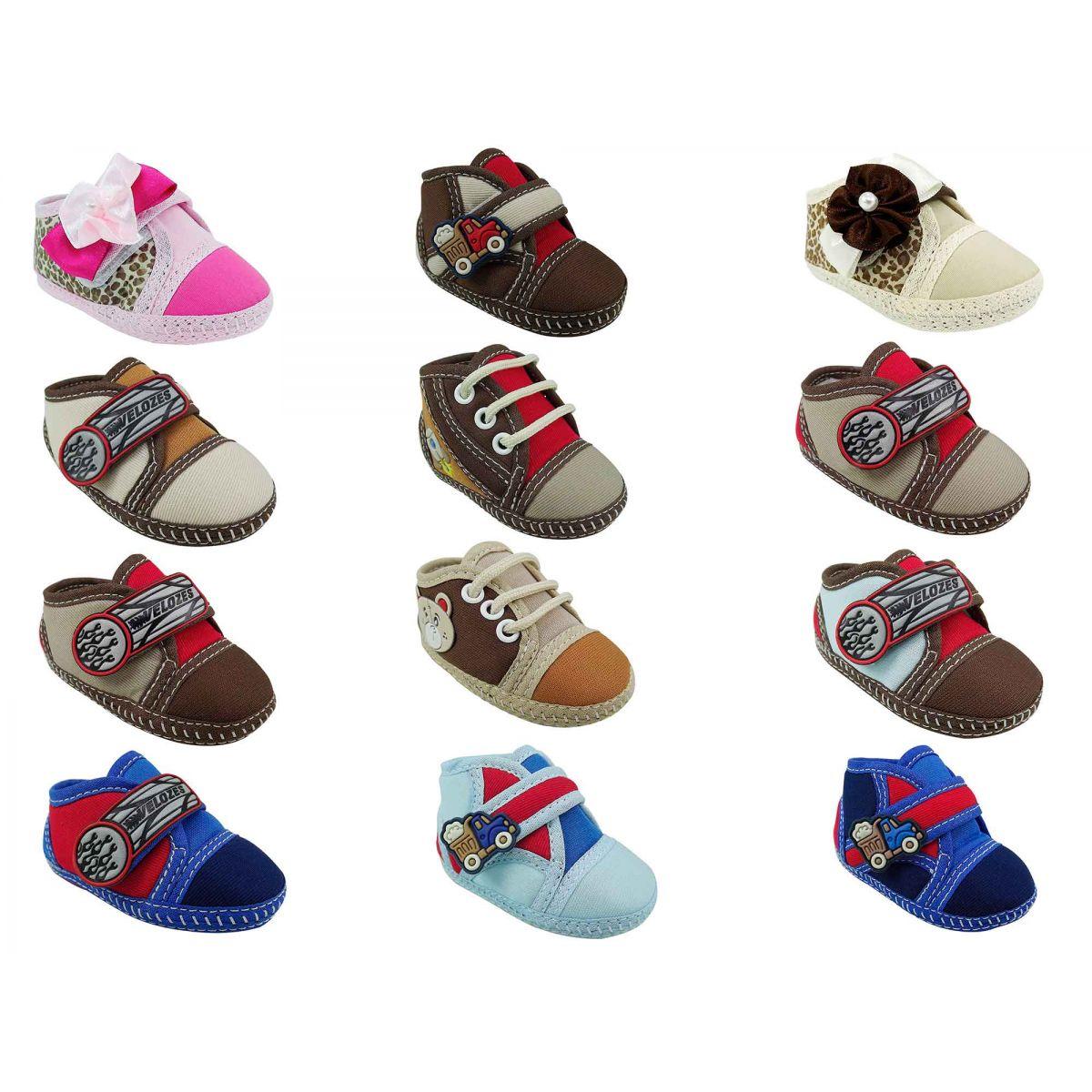 Sapato Infantil Botinha Criança Bebê