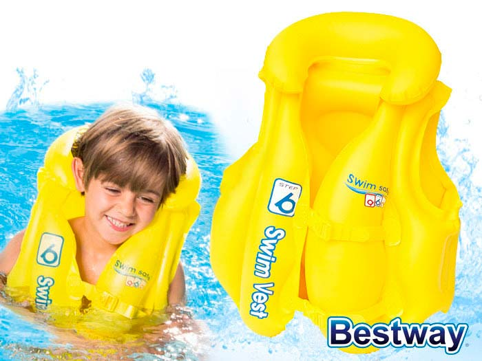 Colete Inflável Infantil para natação Bestway