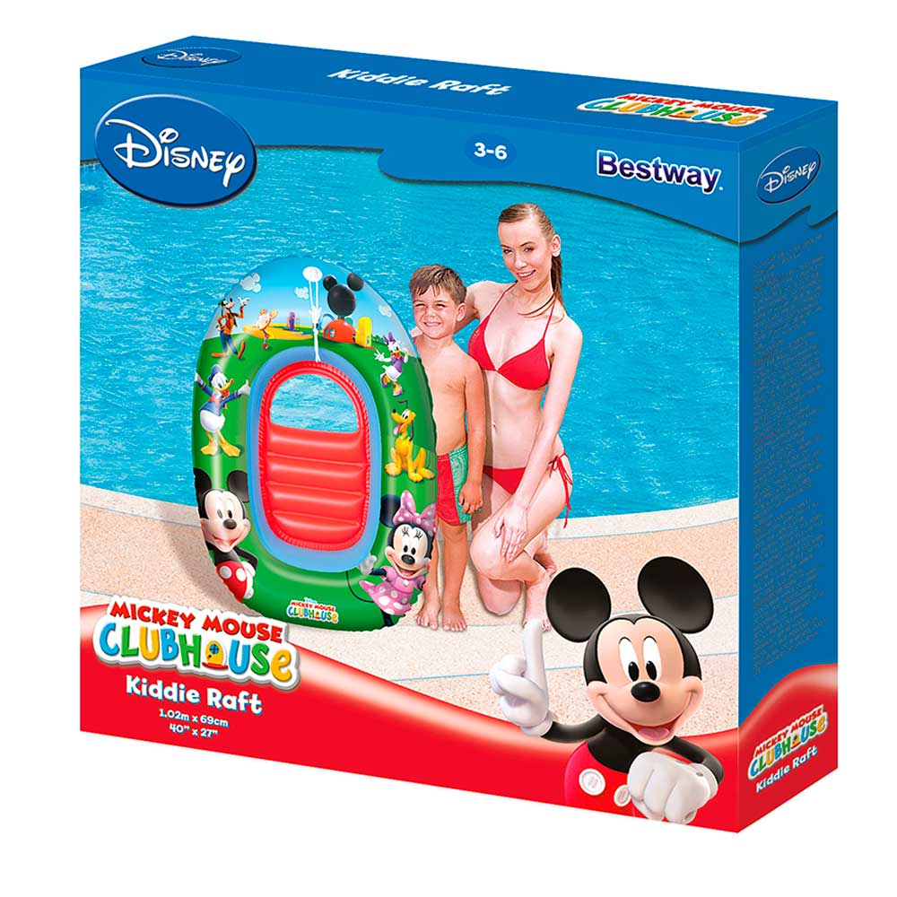 Boia Mini Bote Infantil Mickey Mouse