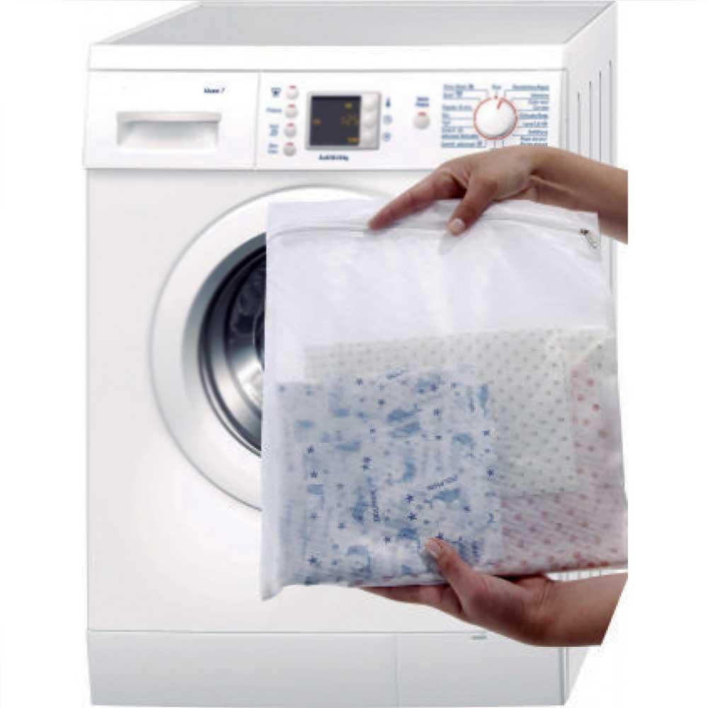 Kit 2 Sacos Para Lavar Roupas Delicadas Com Zíper