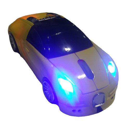 Mouse Infokit 1000dpi Com Fio 4 Leds Gm-s200 Bugati