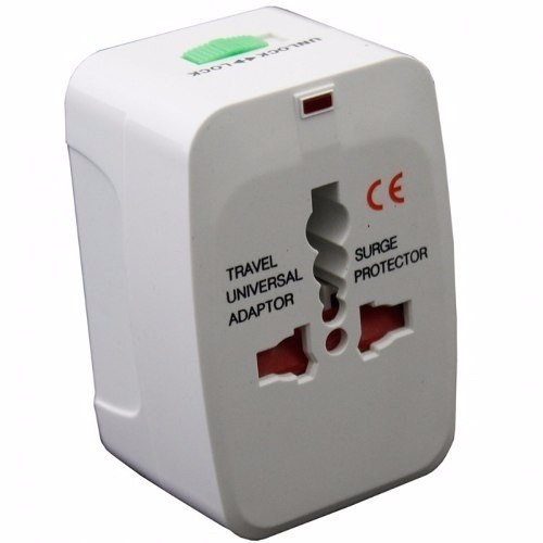 Adaptador Universal Internacional Para Todas As Tomadas