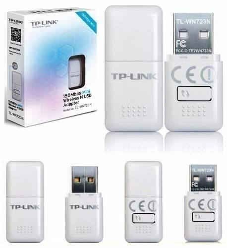 Mini Adaptador Usb Wireless N 150mbps Tl-wn723n