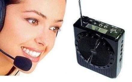 Microfone Amplificado Para Palestras