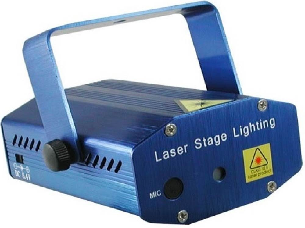 Mini Laser Stage Lighting Projetor Holografico