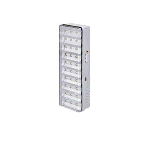 Luminária de Emergência 30 Leds 6500K