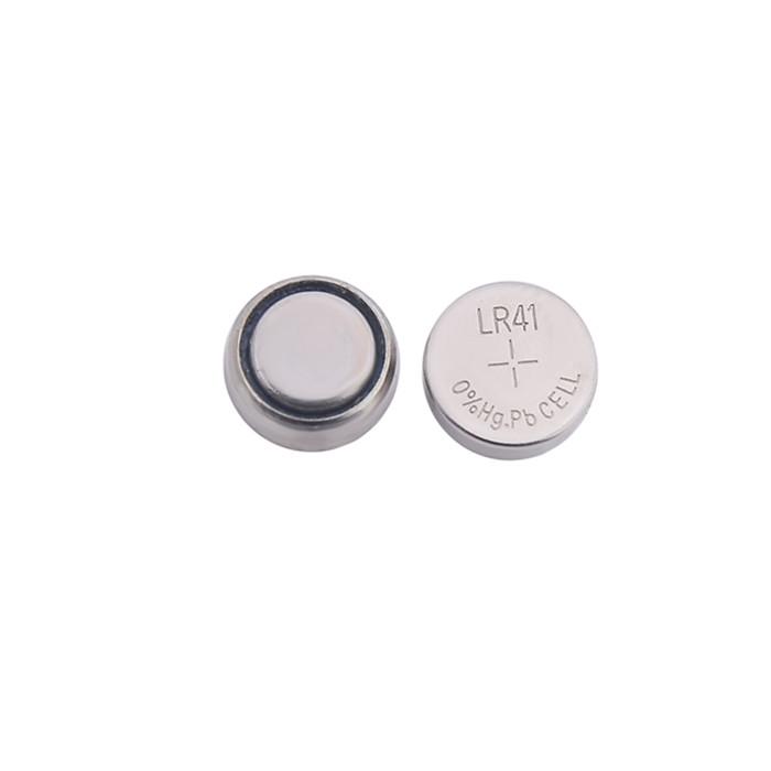 Pilha Bateria Botão G3 LR41 Alcalina Unidade