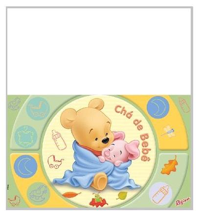 Toalha de Mesa Ursinho Pooh Baby