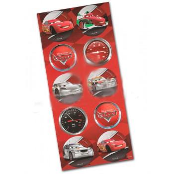 Adesivo Decorativo Redondo Carros