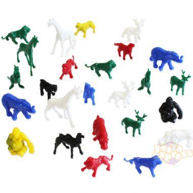 Mini Brinquedo Animais c/ 4 unid.