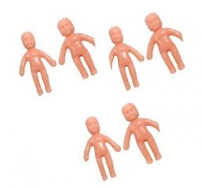Mini Brinquedo Boneca Xaxa c/ 4 unid.
