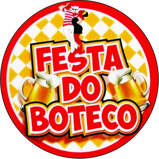 Adesivo Boteco c/ 20 unid