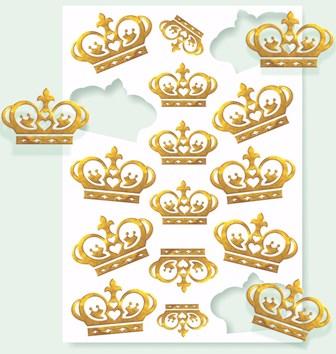 Adesivo Coroa com 16 unidades