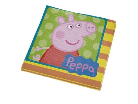 Guardanapo Peppa Pig c/ 16unid.