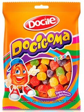 Bala de Goma Docigoma Sino 500 gramas