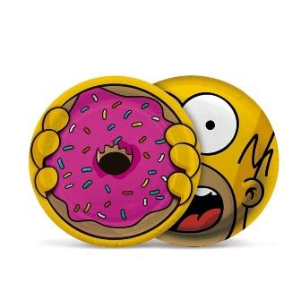 Prato de Papel Cartão - 18cm - Os Simpsons