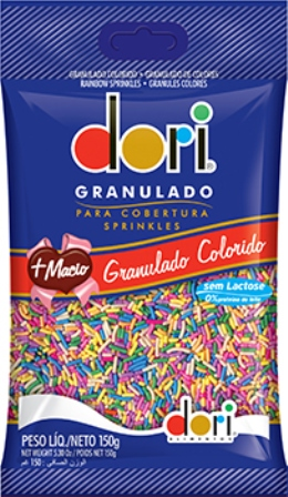 Chocolate Granulado Colordo - Dori - 150g