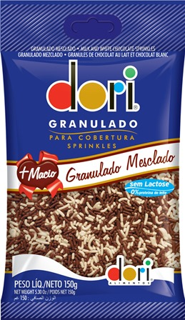 Chocolate Granulado Mesclado - Dori - 150g