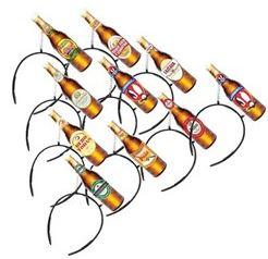 Tiara Garrafas de Cerveja c/ 6 unid.