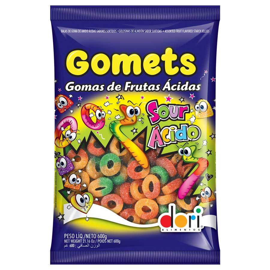 Anéis de Frutas Ácidas - Gomets 600g