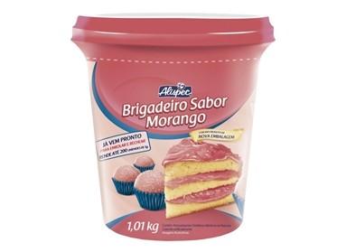 BRIGADEIRO SABOR MORANGO 12 X 1.01 KG