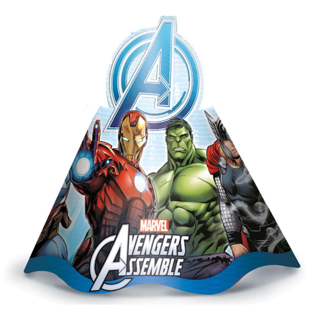 Chapéu de Aniversário Vingadores Marvel